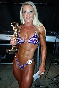 air brush tan body building competition